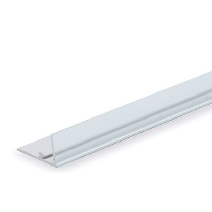 Picture of RAIL FOR DIVIDER - TRANSPARENT FRONT H. 20 MM - WITH ADHESIVE