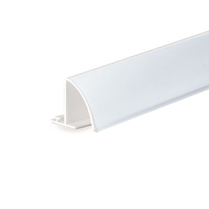 Picture of RAIL FOR DIVIDER - ROUND FRONT FOR LABEL H. 32 MM - WITH ADHESIVE