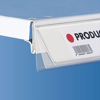 Picture of FLIP-UP UNIVERSAL DATASTRIP NO ANGLE WITH SIDE INSERTION - LABEL H.MAX 40 MM