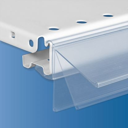 Picture of DATASTRIP FOR CEFLA SYSTEM25 SHELF - 2 DIFFERENT ANGLES - LABEL H.MAX 40 MM