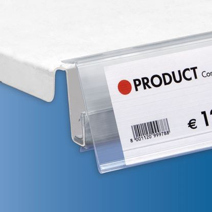 Picture of ANGLED DATASTRIP FOR ZAF SHELF - LABEL H.MAX 40 MM