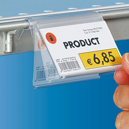 Picture of FLIP-UP CLAMP SUPPORT WITH TAPE FOR SHELFTALKERS