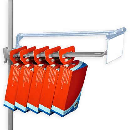 "Picture of LABEL HOLDER ""T"" SUPPORT FOR MULTIHOOK HOOK"