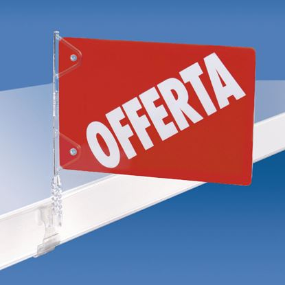 "Picture of PVC ""OFFERTA"" FLAG FOR CODE 262 002/003/000"
