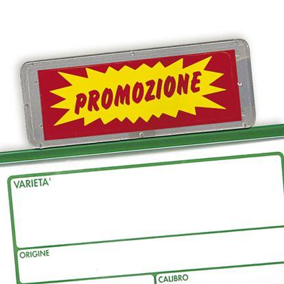 Immagine di TARGA E PORTA TARGA DI PRODOTTO E/O PROMOZIONE