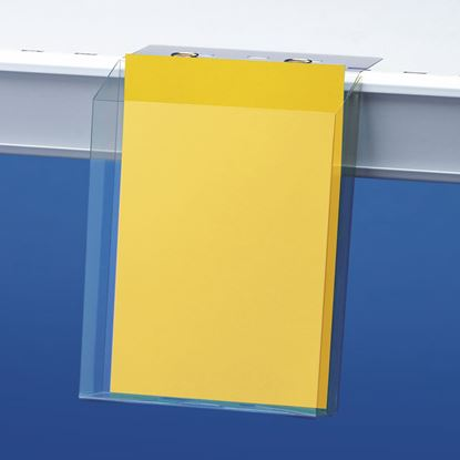 Picture of LEAFLET HOLDER BOX WITH FLAP