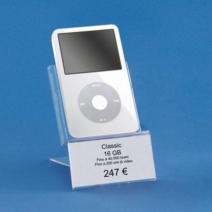 Immagine di ESPOSITORE PER LETTORI MP3 - 1 ETICHETTA