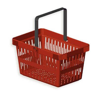 Picture of SHOPPING BASKET MINI TROLLY - 22 LITERS