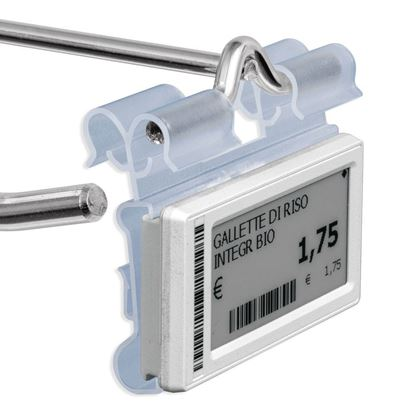 Picture of UNIVERSAL FLIP-UP LABEL HOLDER FOR HOOKS WITH DOUBLE POSITIONS