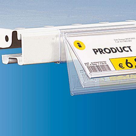 Image de la catégorie  PORTE ETIQUETTE PIVOTANT pour étagère CEFLA SYSTEM25