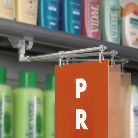 Picture for category SWING III: magnetic aisle sign fixture