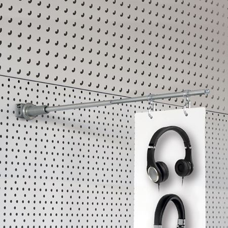 Picture for category AISLE SIGN FIXTURES FOR: pegboard, slatwall, mounting bar, upright