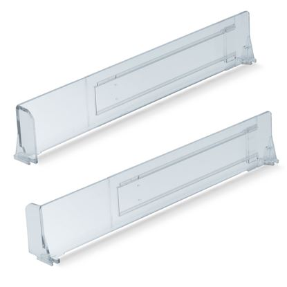 Picture of EXTENDABLE DIVIDER H. 60 MM - WITH SIDE STOPPER H. 60 MM