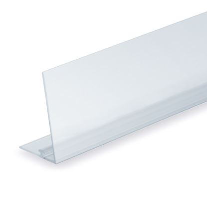 Picture of RAIL FOR DIVIDER - TRANSPARENT FRONT H. 60 MM - WITH ADHESIVE