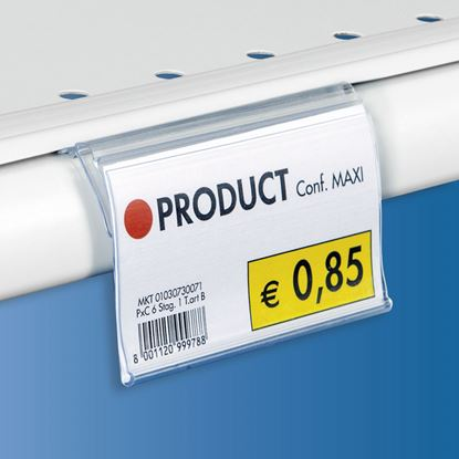 "Picture of FLIP-UP LABEL HOLDER FOR ""SHELF LINE"" PROFILE"