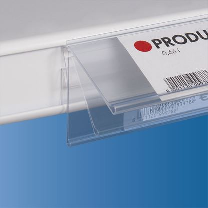 Picture of FLIP-UP UNIVERSAL DATASTRIP WITH FRONTAL INSERTION - LABEL H.MAX 40 MM