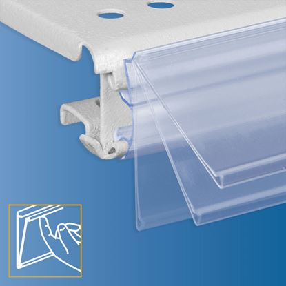 Picture of FLIP-UP DATASTRIP FOR INTRAC IMZ25 (YEAR 2013) - LABEL H.MAX 32 MM - WITH FINGER HOOK