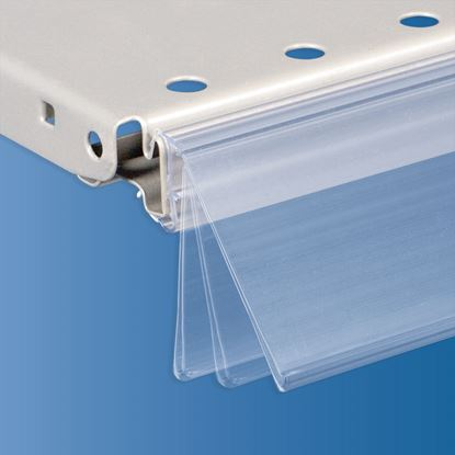 Picture of FLIP-UP DATASTRIP FOR CEFLA SYSTEM10 SHELF - LABEL H.MAX 40 MM