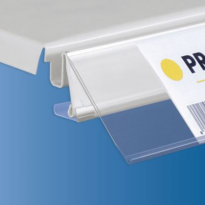 Picture of TEGOMETALL - LINDE - STOREBEST SHELF DATASTRIP - 2 DIFFERENT ANGLES - LABEL H.MAX 52 MM