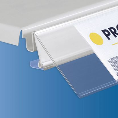 Picture of TEGOMETALL - LINDE - STOREBEST SHELF DATASTRIP - 2 DIFFERENT ANGLES - LABEL H.MAX 60 MM