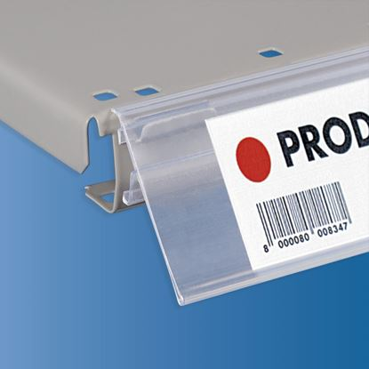 Picture of ITAB SHELF DATASTRIP SHELF EDGE WITH WINGS - LABEL H.MAX 52 MM