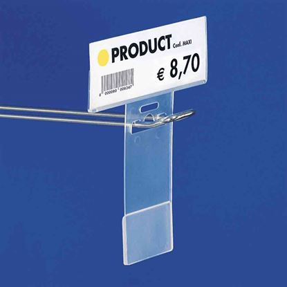 "Picture of ""T"" LABEL HOLDER FOR HOOKS"