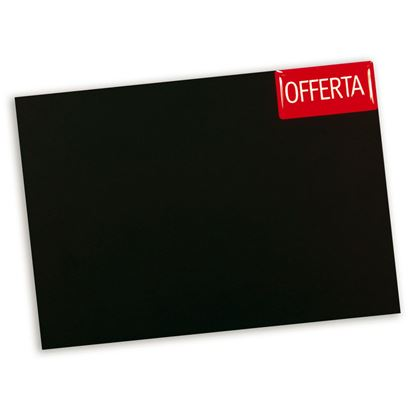Picture of PLAIN BLACKBOARD IN BLACK FALSE SLATE - SHARP CORNERS