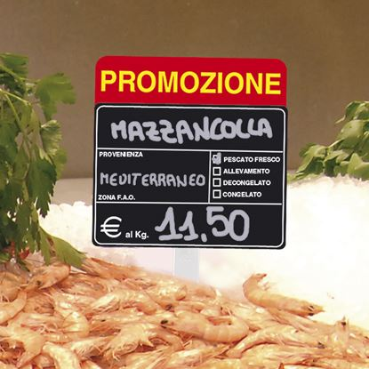 "Picture of ""PROMOZIONE"" TAG FOR FISH SECTION"