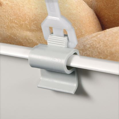 Picture of HINGE CLIP FOR PLATES, TRAYS AND BOXES - FOR THICKNESS 1 TO 6 MM
