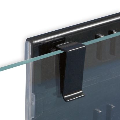 Picture of FIXED CLIP FOR FRONT PANELS FOR THICKNESS 1 TO 6 MM