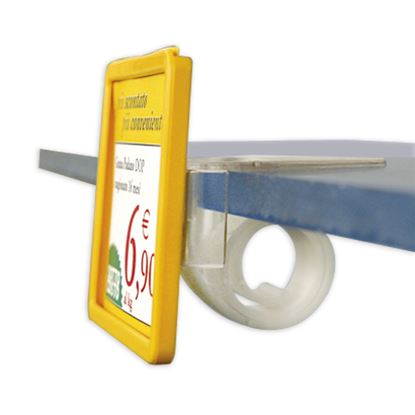 Picture of UNIVERSAL CLIP FOR SHELVES OF THICKNESS FROM 5 TO 30 MM