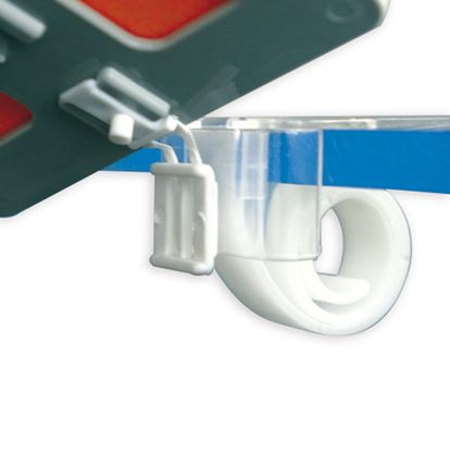 Picture of UNIVERSAL HINGED CLIP FOR SHELVES OF THICKNESS FROM 5 UP TO 30 MM