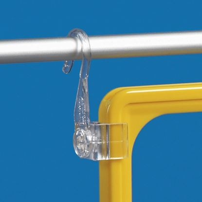 Picture of PIVOTING PAIR OF HOOKS FOR WIRE Ømax 10 MM