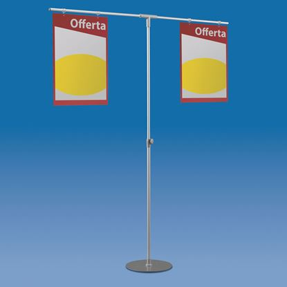 Picture of TELESCOPIC ALUMINIUM MAJOR STAND WITH 2 ARMS