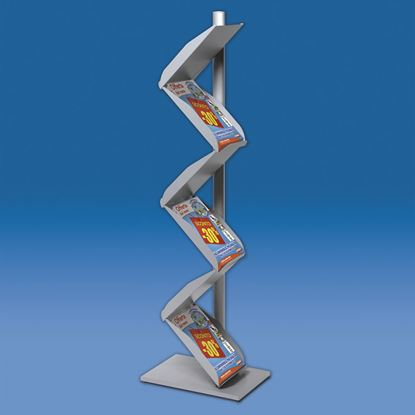 """Picture of """"ZORRO"""" STAND BROCHURE HOLDER - DOUBLE SIDED"""