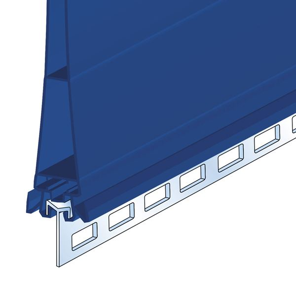 Picture of CLEAR PUNCHED PVC RAIL