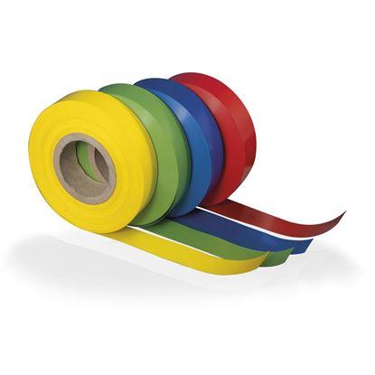 Immagine di ROTOLO IN PVC COLORATO PER PORTAPREZZO - H.28 mm