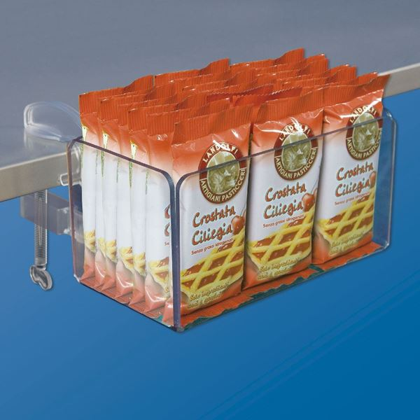 Picture of CLAMP CLIPS WITH TRANSPARENT CONTAINER