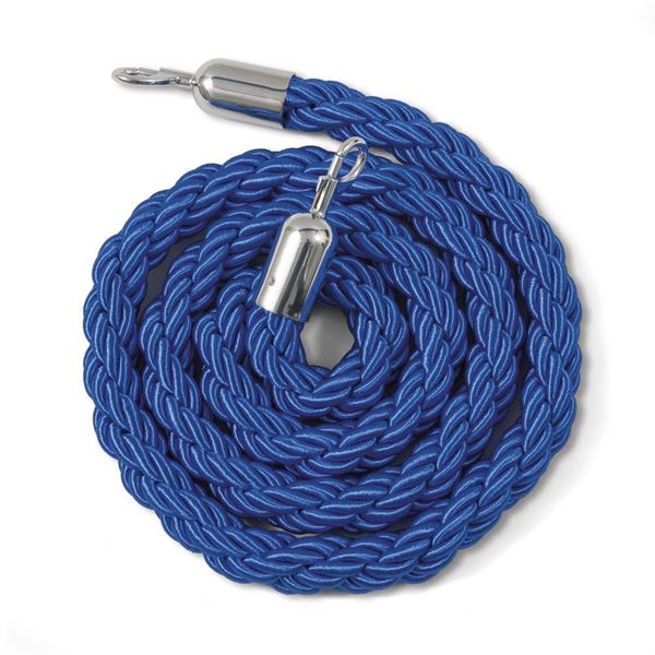 Picture of TWISTED ROPE WITH CLAMPS