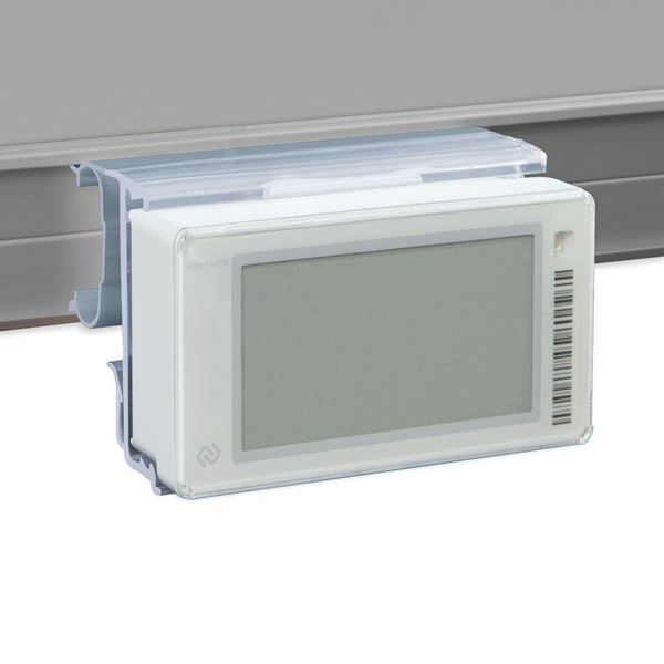 Picture of FLIP-UP LABEL HOLDER FOR REFRIGERATOR SHELF for Pricer, Hanshow and Altierre