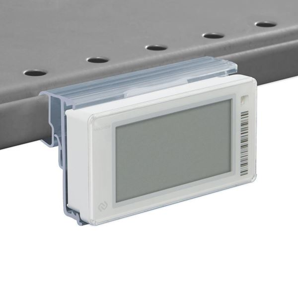 Picture of FLIP-UP LABEL HOLDER FOR CEFLA SYSTEM10 AND WIREPLUS SHELVES for Pricer, Hanshow and Altierre
