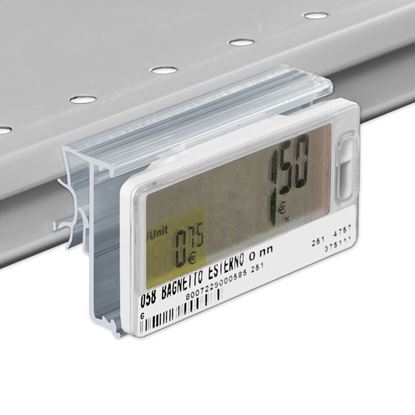 Picture of FLIP-UP LABEL HOLDER FOR INTRAC IMZ25 V13 (year 2013) for Pricer, Hanshow and Altierre