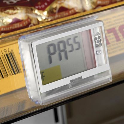 Picture of SINGLE LABEL HOLDER WITH FOAM TAPE for Pricer, Hanshow and Altierre