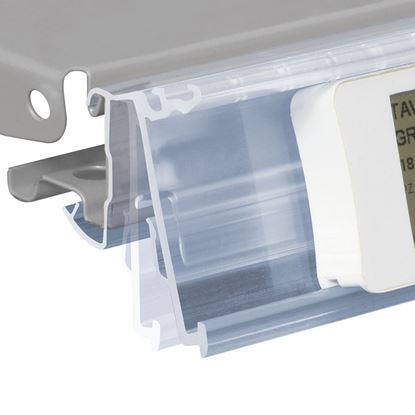Picture of FLIP-UP DATASTRIP WITH HOLES FOR CEFLA SYSTEM25 SHELF for Ses