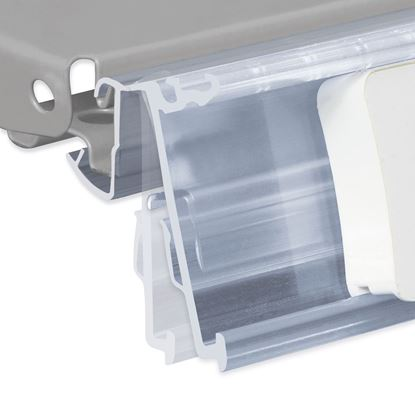 Picture of FLIP-UP DATASTRIP WITH HOLES FOR CEFLA SYSTEM10 SHELF for Ses