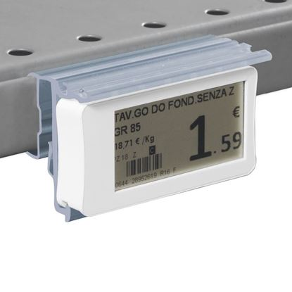 Picture of FLIP-UP LABEL HOLDER WITH HOLES FOR CEFLA SYSTEM25 SHELF for Ses