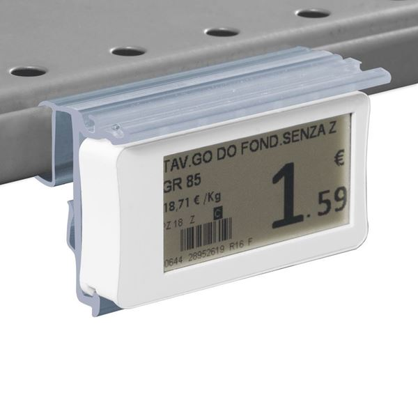 Picture of FLIP-UP LABEL HOLDER WITH HOLES FOR CEFLA SYSTEM10 SHELF for Ses