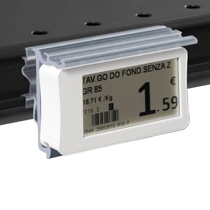 Picture of FLIP-UP LABEL HOLDER WITH HOLES FOR LA FORTEZZA F25 SHELF for Ses