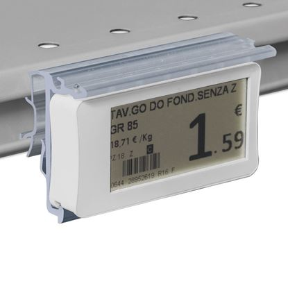 Picture of FLIP-UP LABEL HOLDER WITH HOLES FOR INTRAC IMZ25 V13 (year 2013) SHELF for Ses