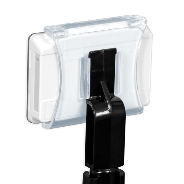 Picture of SINGLE LABEL HOLDER WITH 12 MM GUIDE for Pricer, Hanshow and Altierre